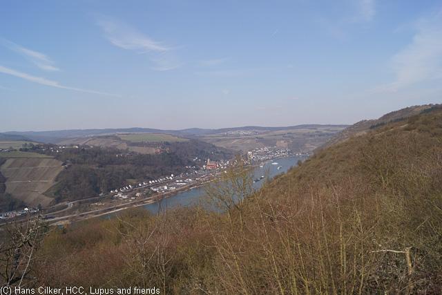 von Kaub nach St. Goarshausen
