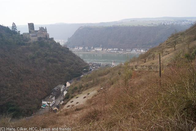 von St. Goarshausen nach Kestert