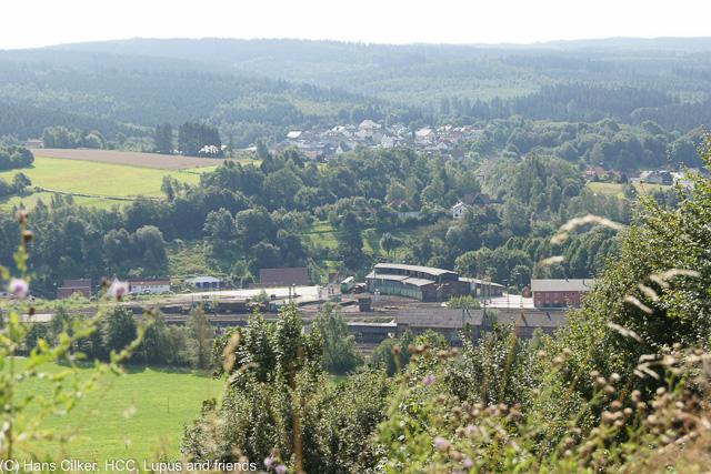 von Altenbeken nach Wasserwerk Hossengrund