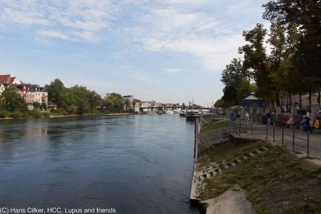 erst zur Walhalla dann nach Regensburg