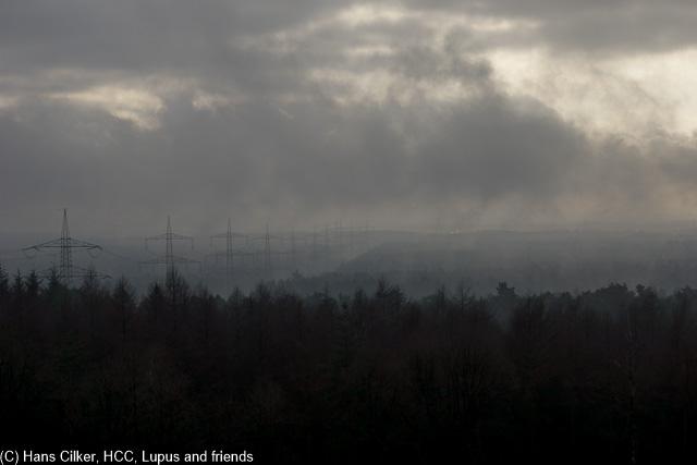 Nichts besonderes, eine kleine Runde in Lämmershagen, aber prima nur Wetter kacke.