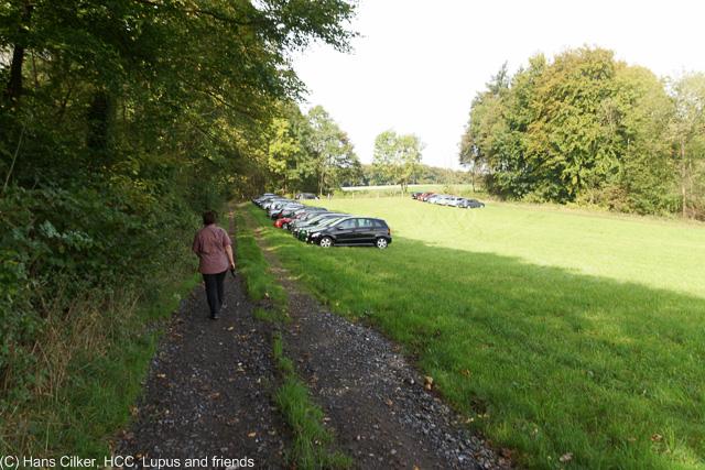 von der Sudenfelder Strasse nach Tecklenburg