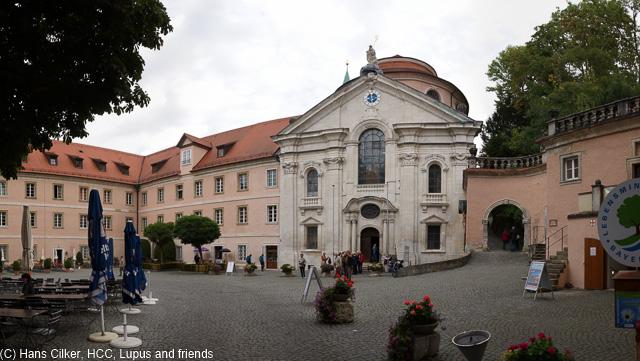 wir schauen mal beim Kloster Weltenburg vorbei und zu Abend essen wir in Bad Driburg, einfach toll.