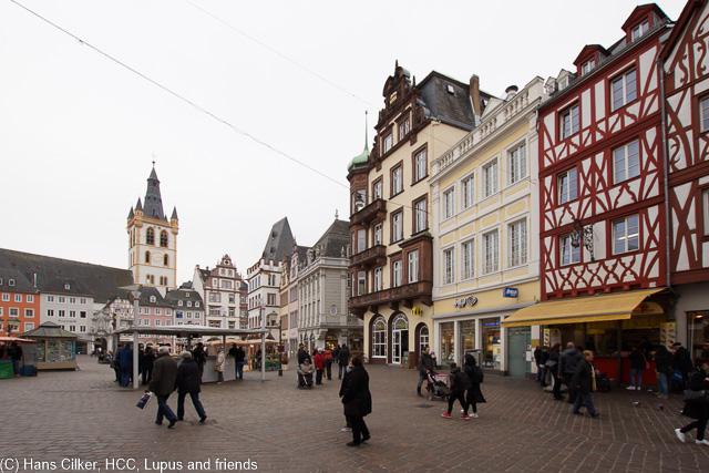 wir treffen uns mit Marleen in Koblenz und fahren entlang der Mosel rauf nach Trier.