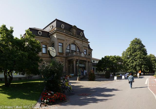 wir machen uns auf den Weg durch Bad Rotenfelde, etwas sehr viele Alte, aber werden wir auch, was soll es.